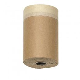 Color Expert захисний папір з малярською стрічкою CoverQuick, 18см x 20м