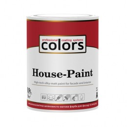Colors House-Paint - високотехнологічна універсальна фарба 0,9л