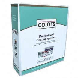 Папка А4 товщиною 80 мм  зі зразками фарб Colors