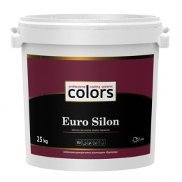 Colors Euro Silon силіконова структурна штукатурка 25кг