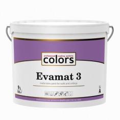 Colors Evamat 3 латексна фарба для стель з уповільненим часом висихання 9л