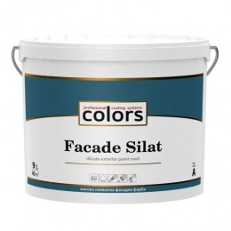 Colors facade Silat силікатна фасадна фарба 9л