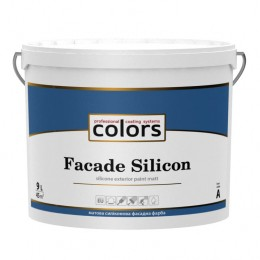 Colors facade Silicon cиликоновая фасадная краска 9л