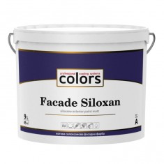Colors Facade Siloxan – матова cилоксанова фасадна фарба.