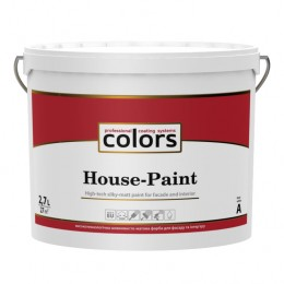 Colors  House-Paint высокотехнологичная универсальная краска 2,7л
