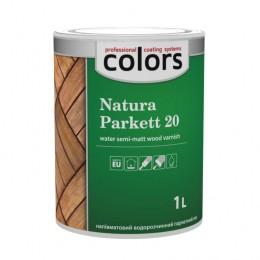 Colors Natura Parkett 20 лак для паркету та меблів 1л