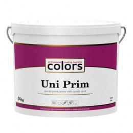 Colors Uni PRIM універсальна штукатурна грунтовка з кварцовим піском 14 кг