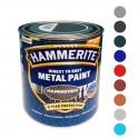 Hammerite - захисна фарба по металу з молотковим ефектом 0,75 л