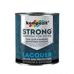 Акриловий лак для каменю STRONG Kompozit 0,9 л