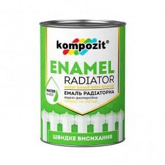 Эмаль акриловая радиаторная Kompozit белая 0,3 л