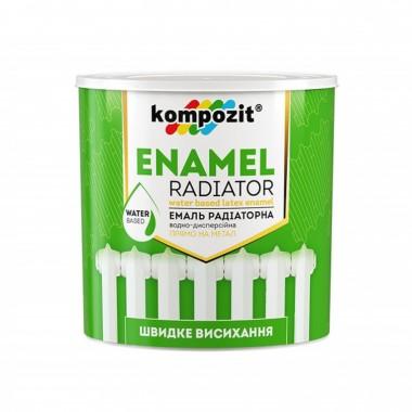 Емаль акрилова радіаторна Kompozit біла 3 л