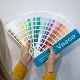 Каталог кольорів  NCS 1950 + RAL K7 185. Vasco