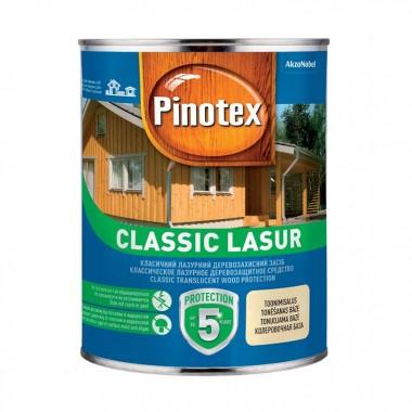 Pinotex Classic Lasur ефективний засіб для захисту деревини з декоративним ефектом 3л