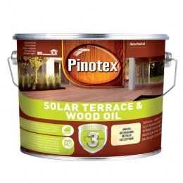 Pinotex SOLAR TERRACE & WOOD OIL - Масло на водній основі з УФ-захистом для терас, меблів і фасадів 2,33 л.