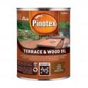 Pinotex TERRACE & WOOD OIL - Атмосферостійке деревозахисне масло, що тонується, 3л