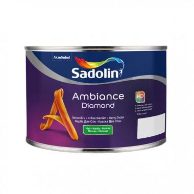 Sadolin Ambience Diamond матовая краска для стен c высокой устойчивостью к мытью 0,5 л