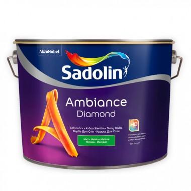 Sadolin Ambience Diamond матова фарба для стін c високою стійкістю до миття 10 л