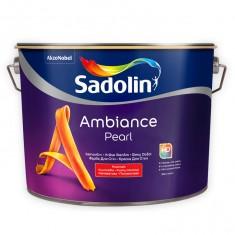 Sadolin Ambience Pearl полуматовая краска для стен с высокой износостойкостью 10 л