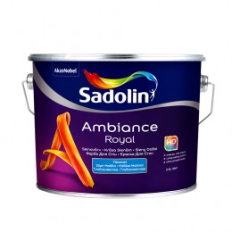 Sadolin Ambience Royal глубоко матовая краска для стен с превосходной укрывистостью 2,5 л