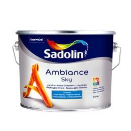 Sadolin Ambiance Sky - нестекающая глубокоматовая краска для потолка 2,5л.