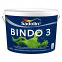 Sadolin  BINDO 3 - Глибокоматова фарба для стелі та стін 1л.