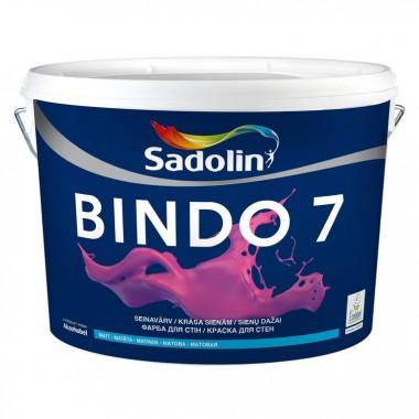 Sadolin  BINDO 7 - Матова фарба для стін і стелі, що миється 2,5л.