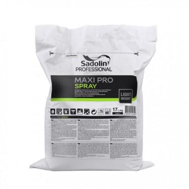 Sadolin MAXI PRO SPRAY дрібнозерниста обробна шпаклівка для набризку 17л білий