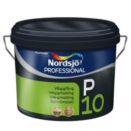 Sadolin PRO P10 зносостійка напівматова акрилова фарба для стін 10л