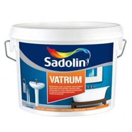 Sadolin VATRUM - Влагостойкая краска для стен полуглянцевая 1л.