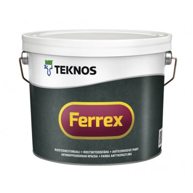 Teknos Ferrex Red 10л