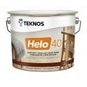 Teknos Helo 40 напівглянцевий лак для дерева 2,7л