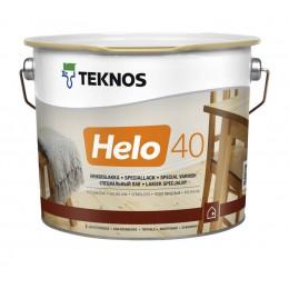 Teknos Helo 40 напівглянцевий лак для дерева 0,9л