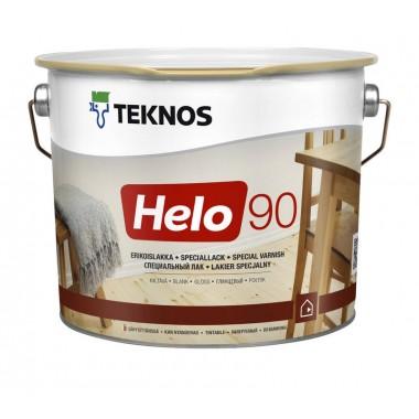 Teknos Helo 90 глянцевий лак для дерева 0,9л