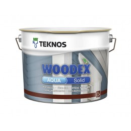 Teknos Woodex Aqua Solid 9л
