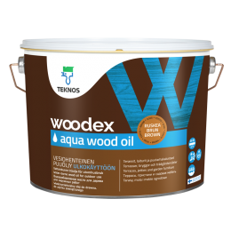 Teknos Woodex Aqua Wood Oil 9л