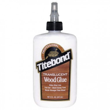 Titebond Translucent Wood Glue напівпрозорий клей для дерева 237 мл