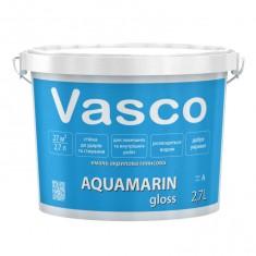 Vasco AQUAMARIN gloss акрилова емаль універсальна глянсова 2,7л