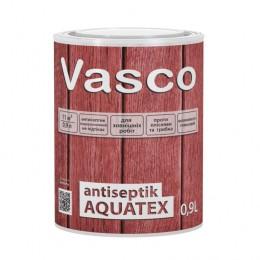 Vasco antiseptik AQUATEX для дерева зовні 0,9л (прозорий, білий, в кольорі )
