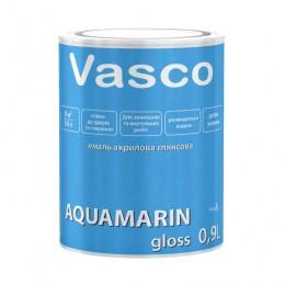 Vasco AQUAMARIN gloss акрилова емаль універсальна глянсова 0.9л