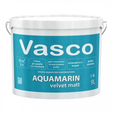 Vasco AQUAMARIN velvet matt акрилова емаль універсальна 9л