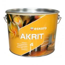 Eskaro Akrit 4 глибоко матова акрилатна фарба 0,95л