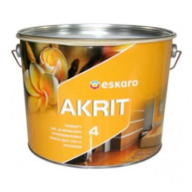 Eskaro Akrit 4 глибоко матова акрилатна фарба 2,85л