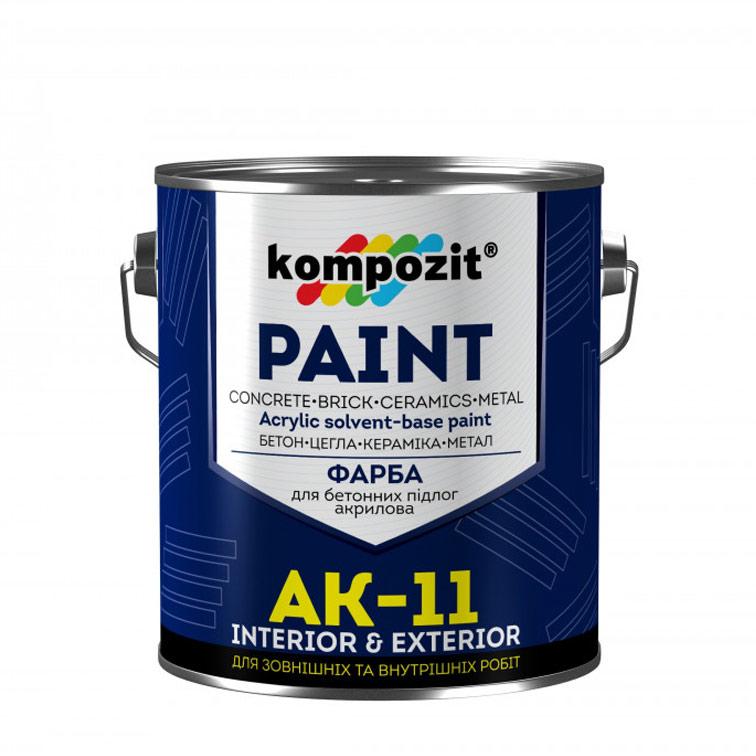 Акрилова фарба для бетонних підлог Kompozit AK-11