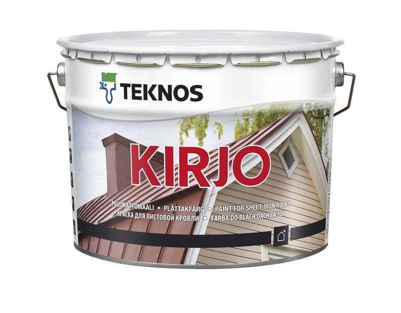 Алкідна фарба по металу Teknos Kirjo