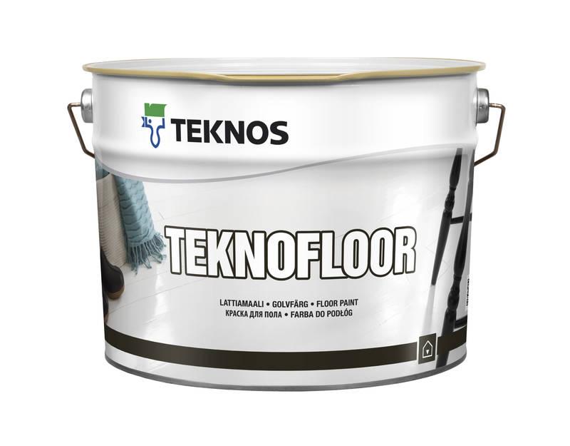 Алкідна фарба для підлоги Teknos Teknofloor