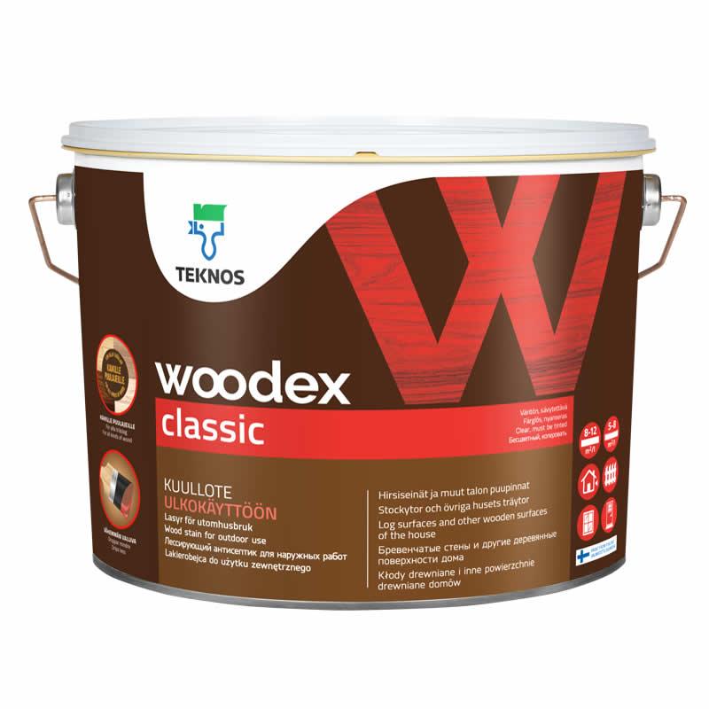 Лакофарбове покриття для дерева Teknos Woodex Classic