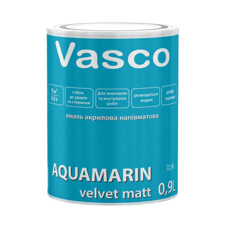 Покриття для дерева Vasco AQUAMARIN velvet mat